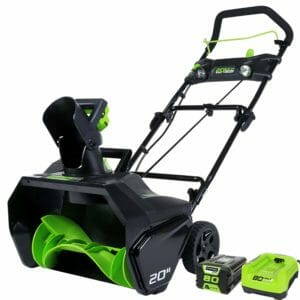 GreenWorks Top 10 Best Snowblowers