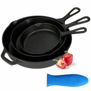 Kookantage Top 10 Best Cast Iron Pots and Pans Sets