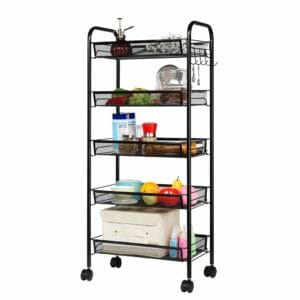 LANGRIA Top 10 Best Rolling Kitchen Storage Carts