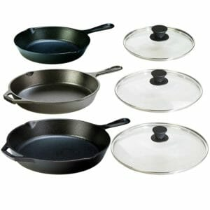 Lodge 2 Top 10 Best Cast Iron Pots and Pans Sets