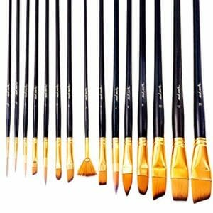 Mont Marte Top 10 Best Artist Paintbrush Sets