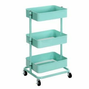 Songmics Top 10 Best Rolling Kitchen Storage Carts