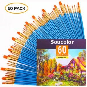 Soucolor Top 10 Best Artist Paintbrush Sets