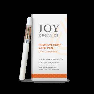 CBD Safe Vaping joy Organics