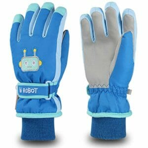 Acokac Top 10 Best Kids Ski Gloves