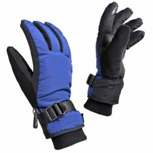 OZERO Top 10 Best Kids Ski Gloves