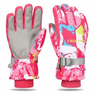 Yobenki Top 10 Best Kids Ski Gloves