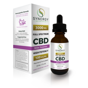 Synergy Botanicals Top Ten Best Terpene-Infused CBD Oils
