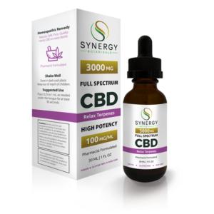 Synergy Botanicals Top Ten Best Terpene-Infused CBD Oils