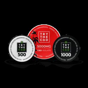 TryTheCBD Top 10 CBD Isolate Powders