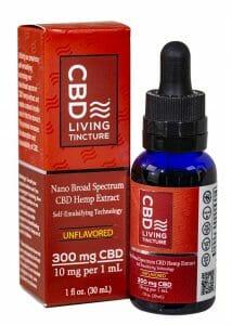 CBD Living best THC free