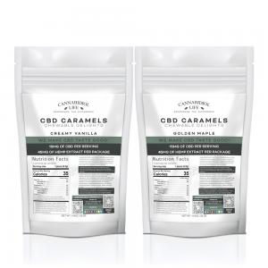 Cannabidiol Life caramels best 15 CBD edibles