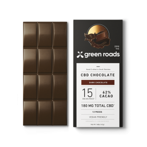 Green Roads Chocolate Best 15 CBD edibles