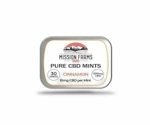 Mission Farms Mints Best 15 CBD Edibles